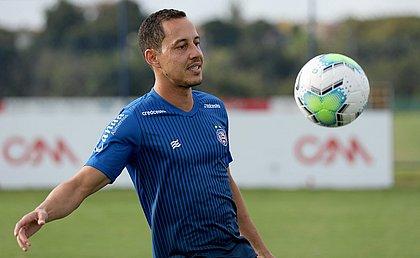 Rodriguinho será titular do Bahia contra o Red Bull Bragantino, sexta-feira (20)