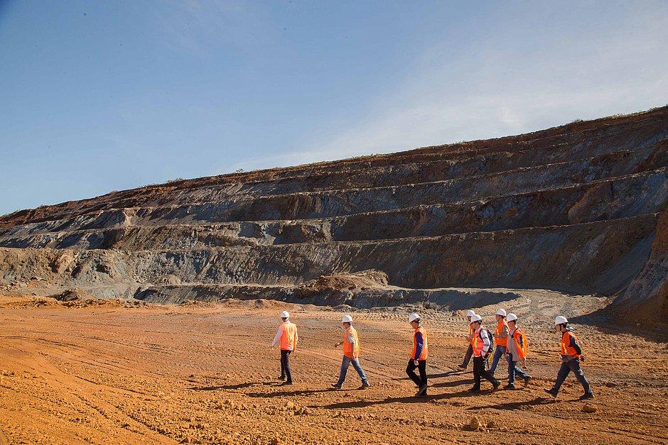 Mina Pedra de Ferro, em Caetité, está pronta para produzir
