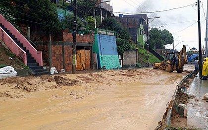 Chuvas em Salvador deixam 478 pessoas desabrigadas