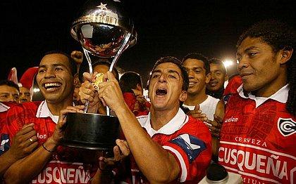 O time peruano Cienciano foi campeão da Sul-Americana em 2003