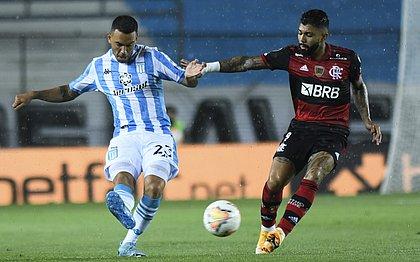 Gabigol fez o gol do rubro-negro no empate com o Racing