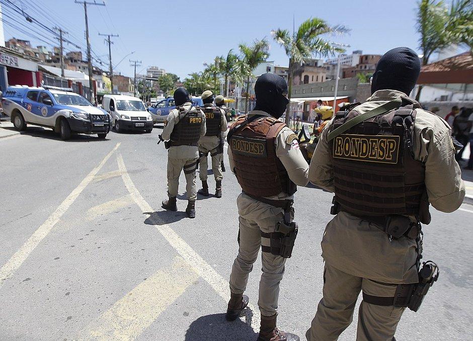 As polícias militar e civil intensificarm as ações nos bairros periféricos de Salvador nas últimas semanas