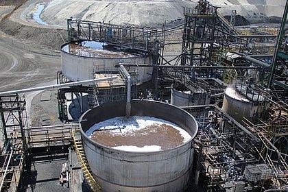 Planta da Vanádio Maracás, assim como de outras mineradoras baianas, reutiliza água e têm impacto reduzido no meio ambiente
