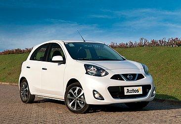 A Nissan não oferece mais o hatchback compacto March no mercado brasileiro