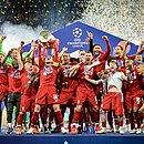 Campeão em 2019, Liverpool foi eliminado nas oitavas em 2020