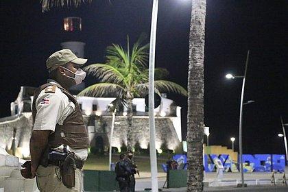 Primeiro final de semana com toque de recolher tem 55 detidos na Bahia