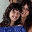 Glória Perez com a filha, Daniella, que se estivesse viva faria 48 anos