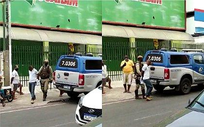 Polícia interrompe assalto com reféns na loja Guaibim de Cajazeiras