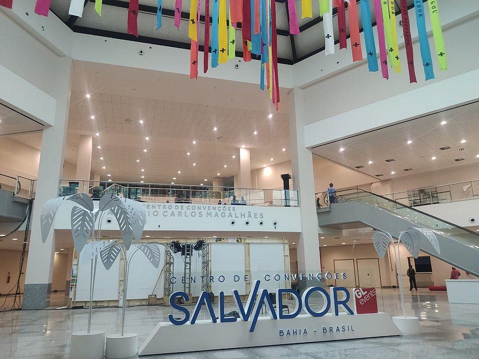 Veja fotos de como está por dentro o novo Centro de Convenções Salvador