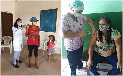 Em Bonito, população jovem já está se vacinando