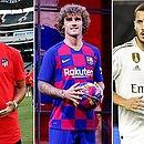 Liga espanhola ficou mais forte com João Félix, Griezmann e Hazard, os três mais caros da janela