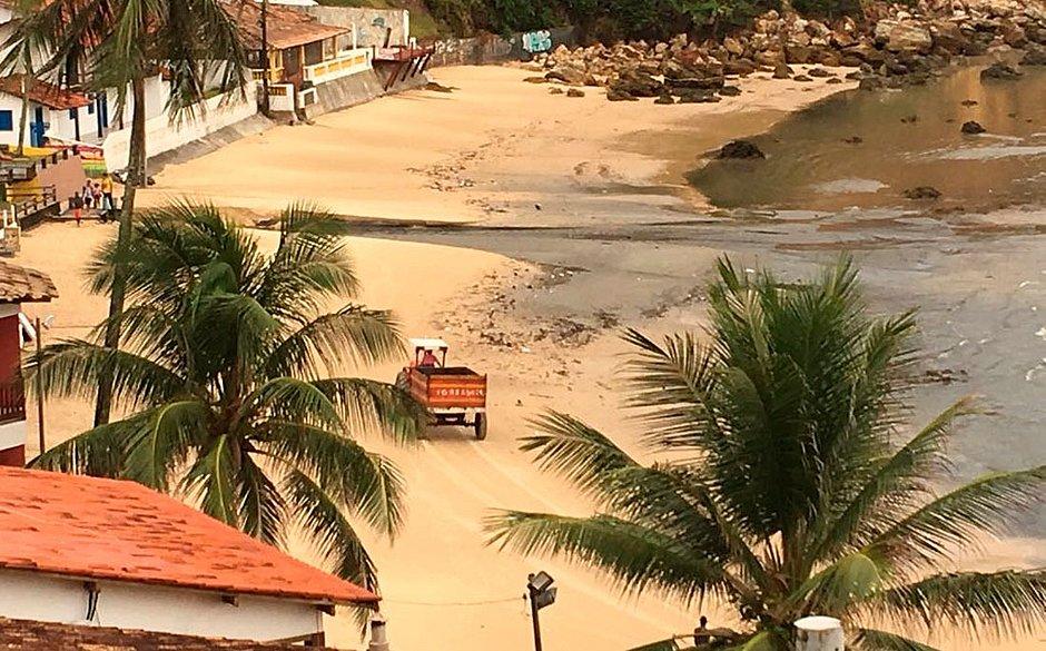 Paraíso dos turistas, Morro de São Paulo tem praia imprópria para banho