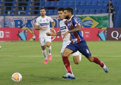 Juninho Capixaba deu o passe para o terceiro gol do Bahia