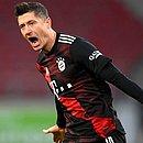 Lewandowski estará de fora do duelo do Bayern contra o Atlético de Madrid