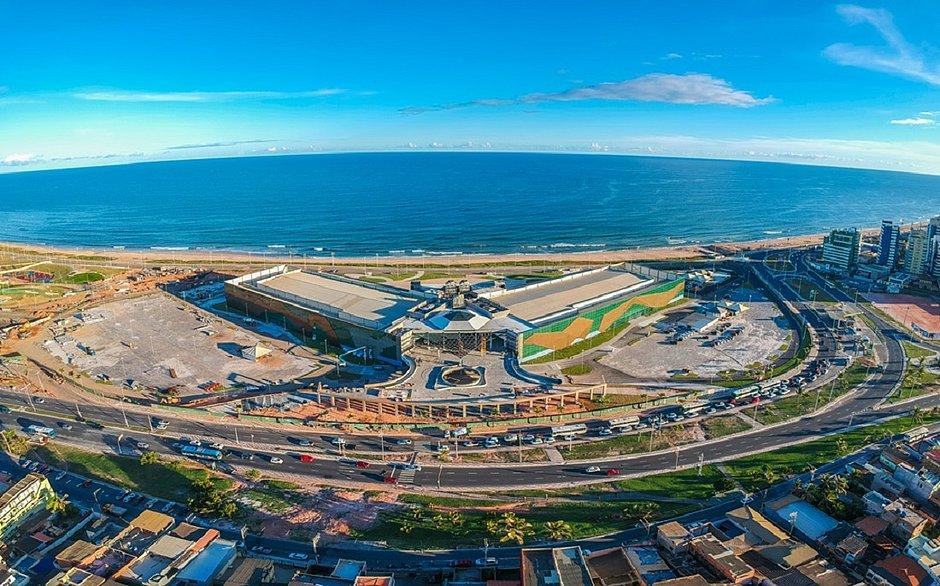 O entorno do Centro de Conveções de Salvador será beneficiado