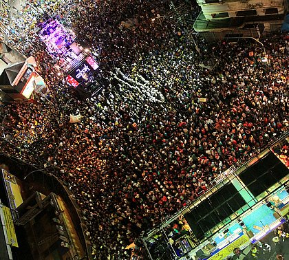 Cenas de Carnaval: a praça do povo