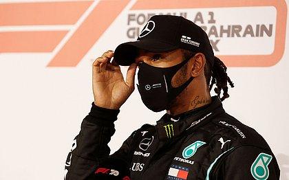 Hamilton testa positivo para a covid e está fora do GP de Sakhir