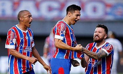 Oscar Ruiz marcou gol na estreia e Bahia venceu o ABC de virada