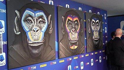 Campanha contra racismos teve macacos como protagonistas