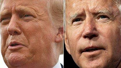 Sondagem revela ainda o aumento da vantagem de Biden após doença de Trump