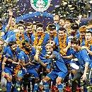 O Jiangsu FC é o atual vencedor da Superliga Chinesa