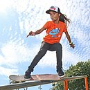 Rayssa Leal, a Fadinha do skate, é uma das concorrentes ao Prêmio Laureus