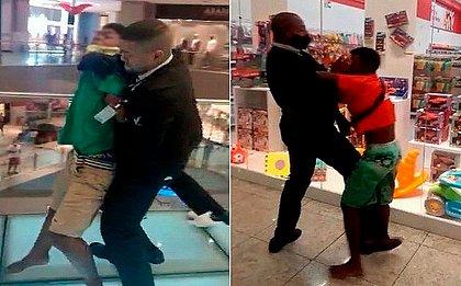 Jovem negro expulso com truculência de shopping é liberado em delegacia