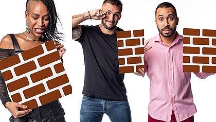 Arthur, Gil e Karol disputam o paredão desta semana no BBB21