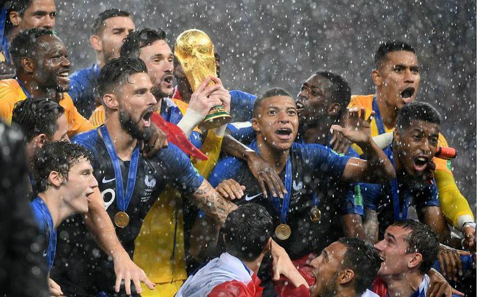 697bd6ac16 Campeã da Copa do Mundo da Rússia