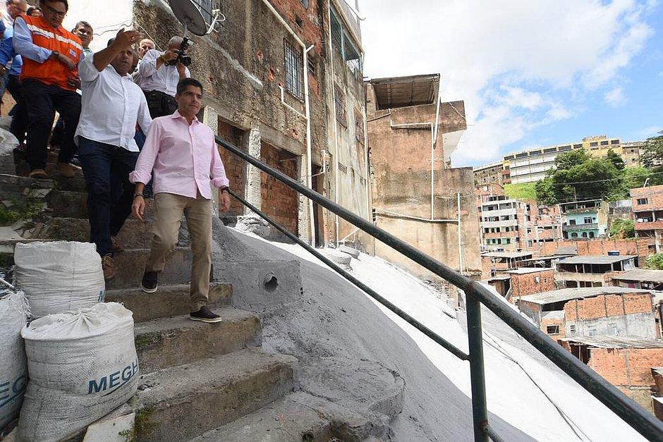 Geomanta instalada em encosta de São Caetano beneficia 500 famílias