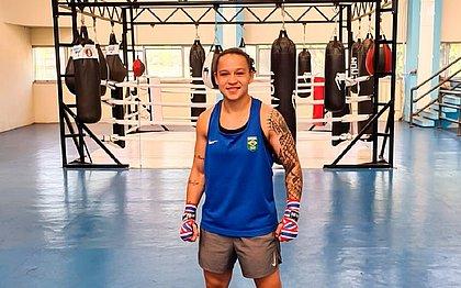 Bia Ferreira está na final do Mundial militar de boxe