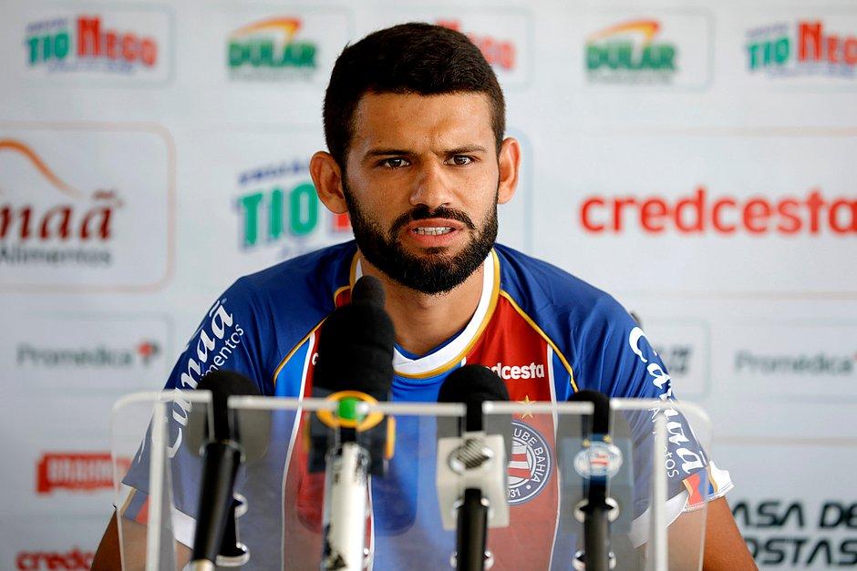 Jádson chega por empréstimo do Cruzeiro e vai disputar uma vaga no meio-campo do Bahia