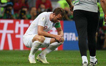 Artilheiro da Copa do Mundo, Harry Kane ficou muito abatido após derrota para a Croácia