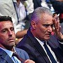 Tite presenciou o sorteio da Copa América, no Rio
