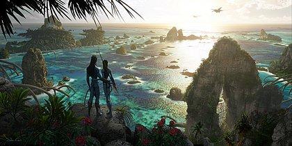 Avatar: novas imagens conceituais mostram novos cenários de Pandora