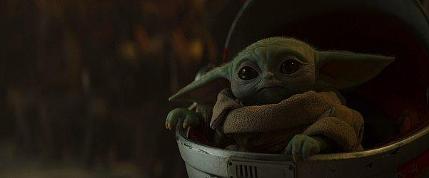 Baby Yoda, de The Mandalorian