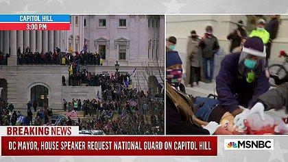 Morre mulher baleada na invasão do Congresso dos EUA