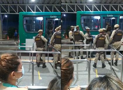 Passageiro é morto e outro fica ferido durante assalto a ônibus