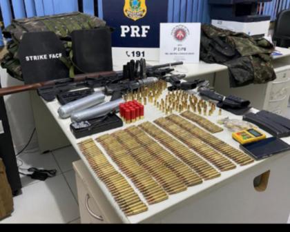 Operação conjunta da PM e PRF prende suspeitos de roubo a banco no sul da BA