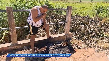 Ana Paula foi assassinada e depois carbonizada à beira de uma ponte em Guaratinguetá