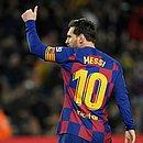Messi usou a camisa 10 do Barcelona por 13 anos
