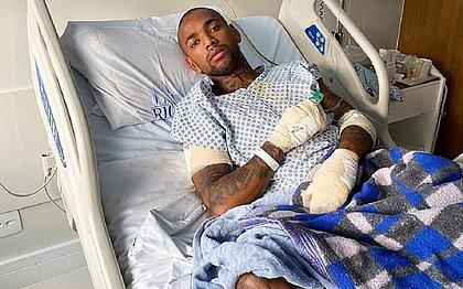 Nego do Borel faz cirurgia após grave acidente de moto: 'Recebi uma segunda chance'
