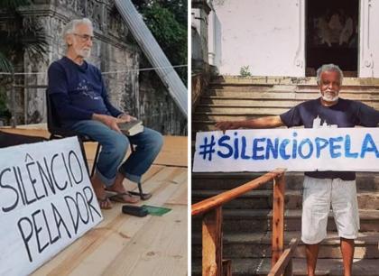 Silêncio pela Dor: Igreja cria campanha de silêncio em respeito às vítimas de covid-19