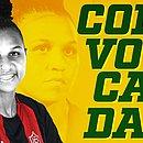 Zagueira Ruth, do Vitória, vai treinar este mês com a seleção brasileira sub-20, na Granja Comary, em Teresópolis