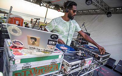 A discotecagem do projeto Sou Verão ficou por conta do DJ Pureza