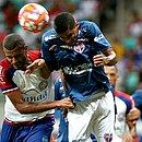 Bahia de Feira e Bahia se enfrentaram na Fonte Nova na 1ª fase e o time do interior venceu por 2x0