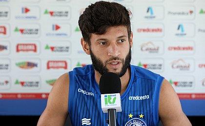 Para Juninho Capixaba, Bahia precisar aprimorar saída de bola e arriscar mais durante os jogos