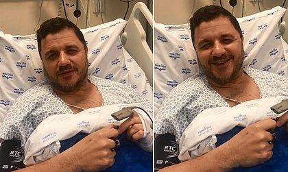 Recuperado de infarto, Mauricio Manieri agradece apoios e comemora: 'Foi milagre'