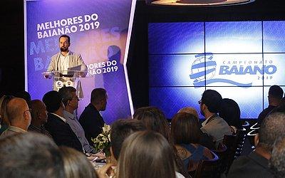 Presidente da FBF, Ricardo Lima discursou no evento de premiação