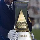O troféu da Série B
